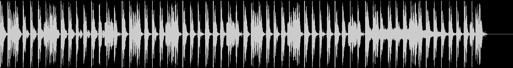 【エレクトロニカ】ロング5、ジングル2の未再生の波形