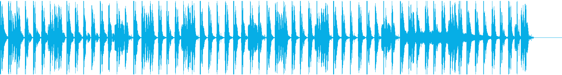 【エレクトロニカ】ロング5、ジングル2の再生済みの波形