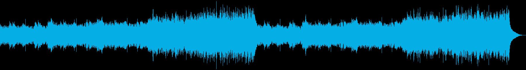 企業VP映像、152オーケストラ、爽快aの再生済みの波形