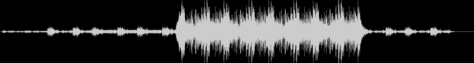 パニック系オーケストラ曲の未再生の波形