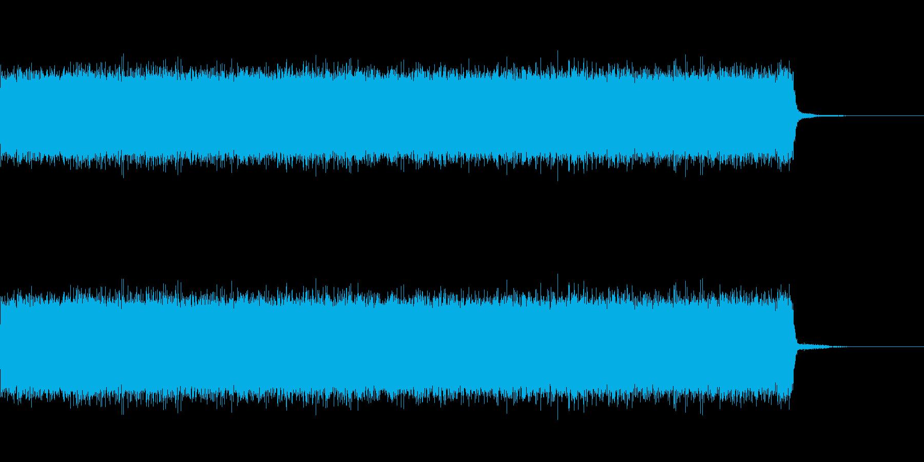 テレビのサーッの再生済みの波形