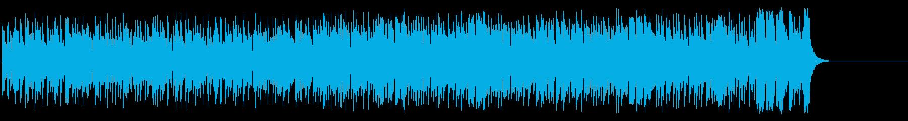 活気あふれるポップ(A~サビ~エンド)の再生済みの波形
