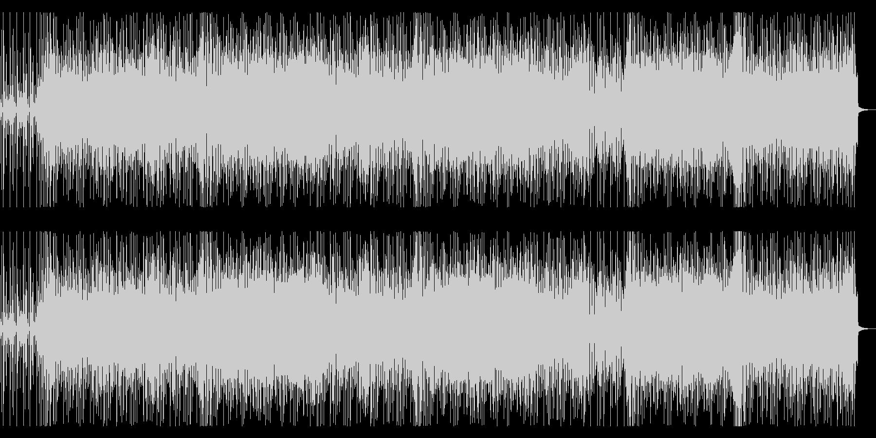 スタイリッシュなファンクギター&リズムの未再生の波形