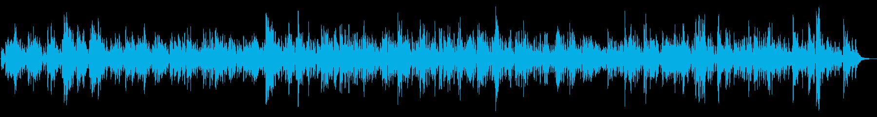 静かな夜に聴きたいしっとりジャズバラードの再生済みの波形