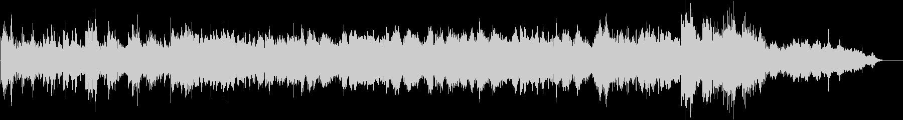Elegant and gentle easy listening's unreproduced waveform