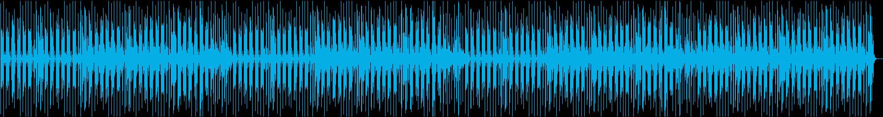 アコースティックギター カフェ おしゃれの再生済みの波形