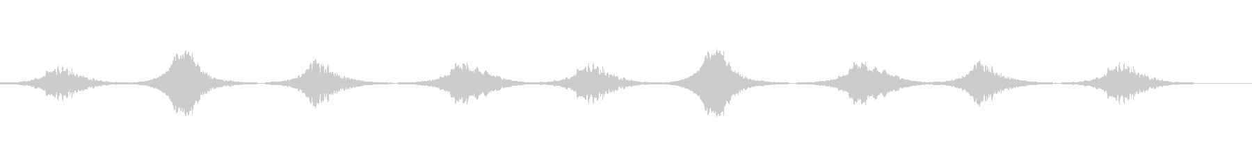 SE_アンビエントな雰囲気の未再生の波形