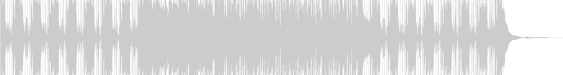 クールなダンスロックチューンの未再生の波形