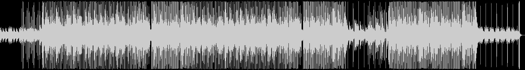 おしゃれで切ないR&Bの未再生の波形