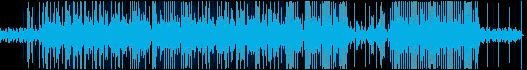 おしゃれで切ないR&Bの再生済みの波形