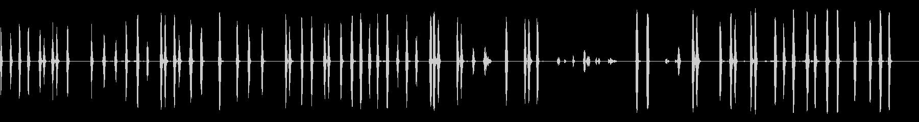 犬-樹皮3の未再生の波形