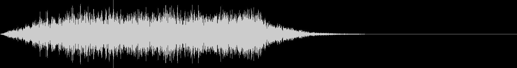 不思議な音05の未再生の波形