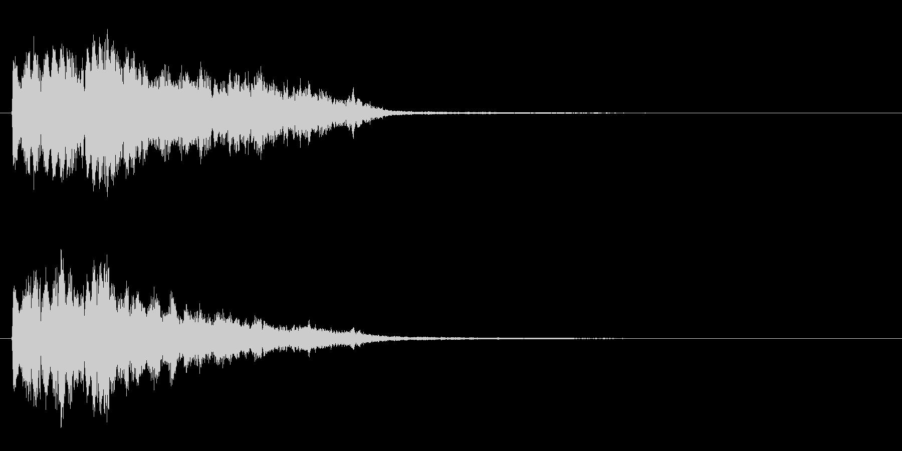 ポピーンの未再生の波形