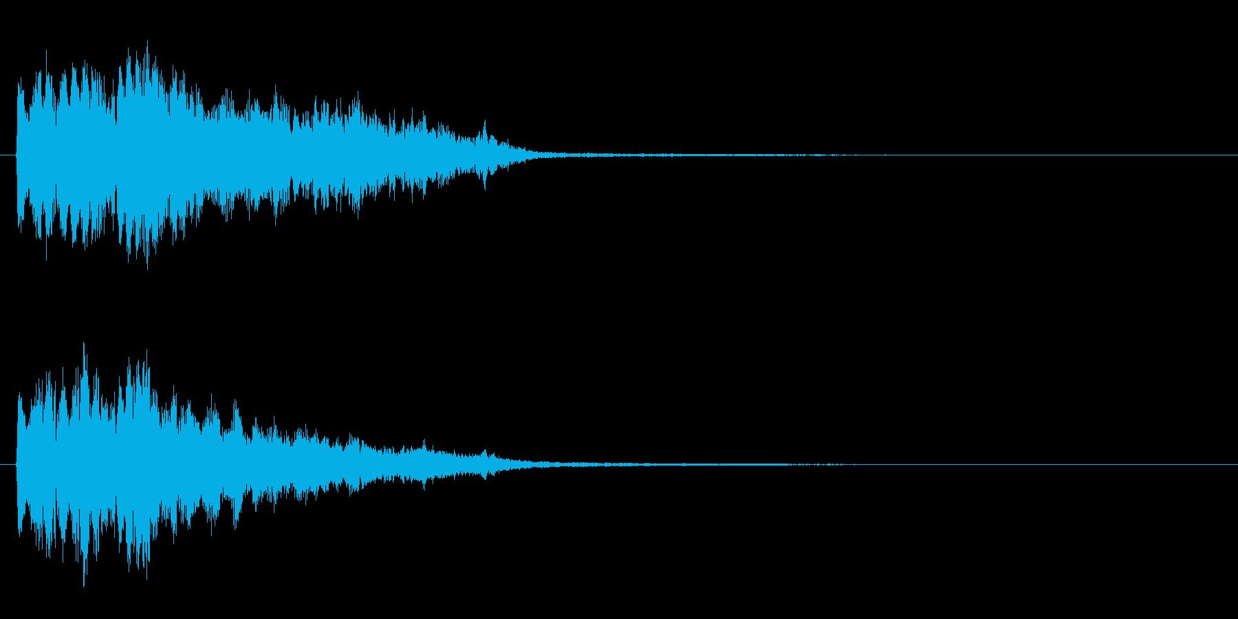 ポピーンの再生済みの波形