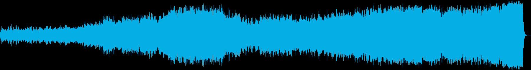 ヨハン・パッヘルベルのカノンの再生済みの波形