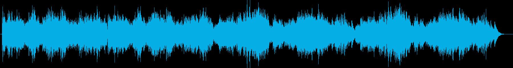 軽快なノリの良い3拍子のピアノ曲。の再生済みの波形