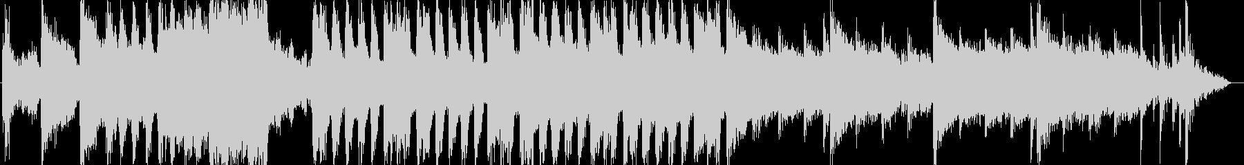琴笛の和風ループ音源アップテンポの未再生の波形