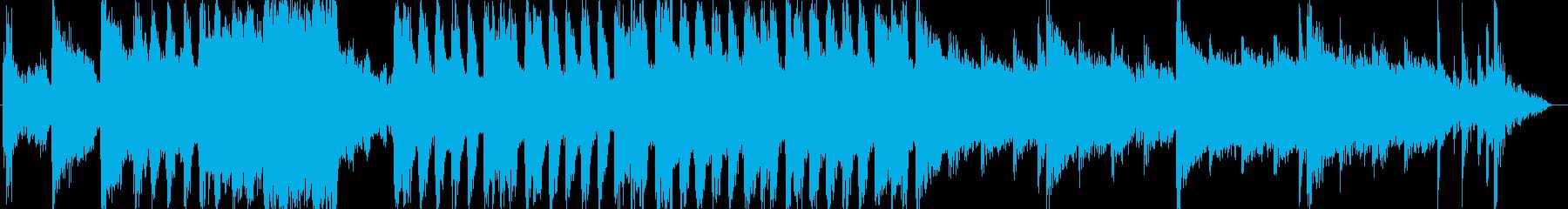 琴笛の和風ループ音源アップテンポの再生済みの波形