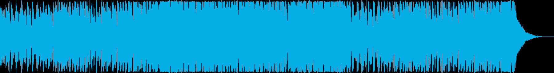 CM・製品紹介・わくわく・1分の再生済みの波形