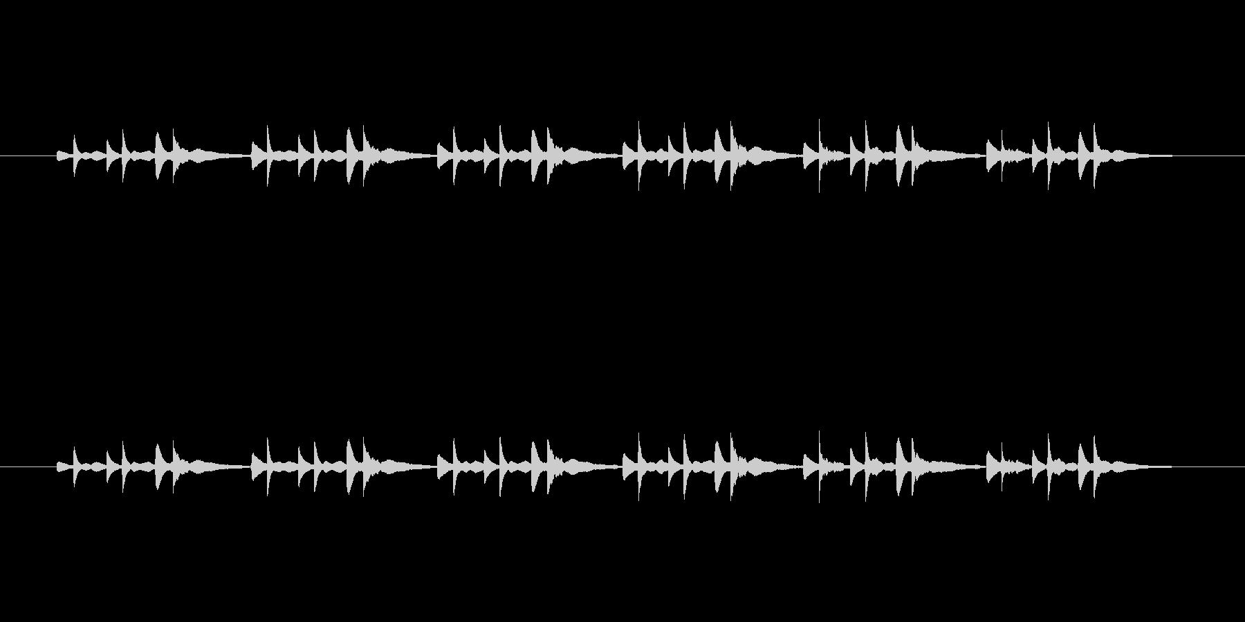 ピアノだけの曲です。の未再生の波形