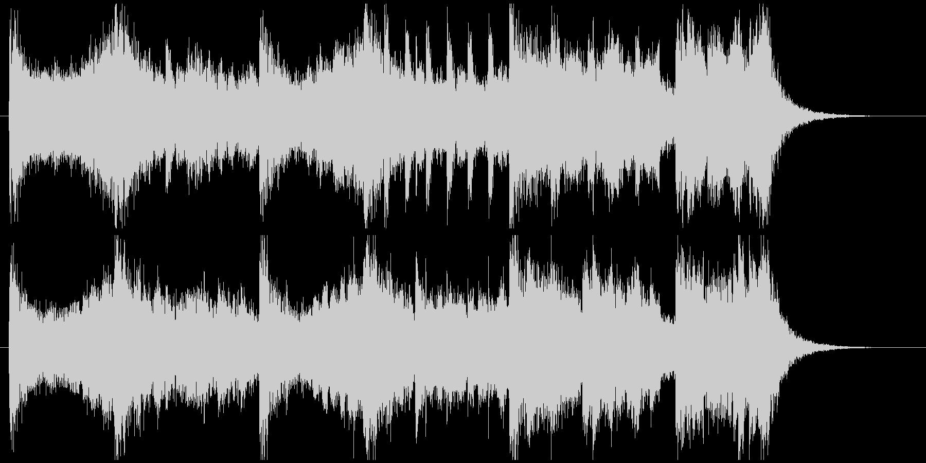 現代的 交響曲 広い 壮大 荘厳 ...の未再生の波形