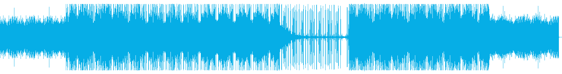大人な雰囲気のジャジーヒップホップの再生済みの波形