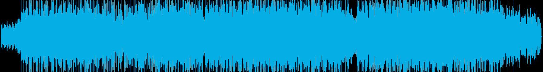 ファンキッシュなギターカッティングとリ…の再生済みの波形