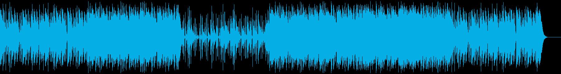 生演奏ウクレレ・爽やかな夏の海の再生済みの波形