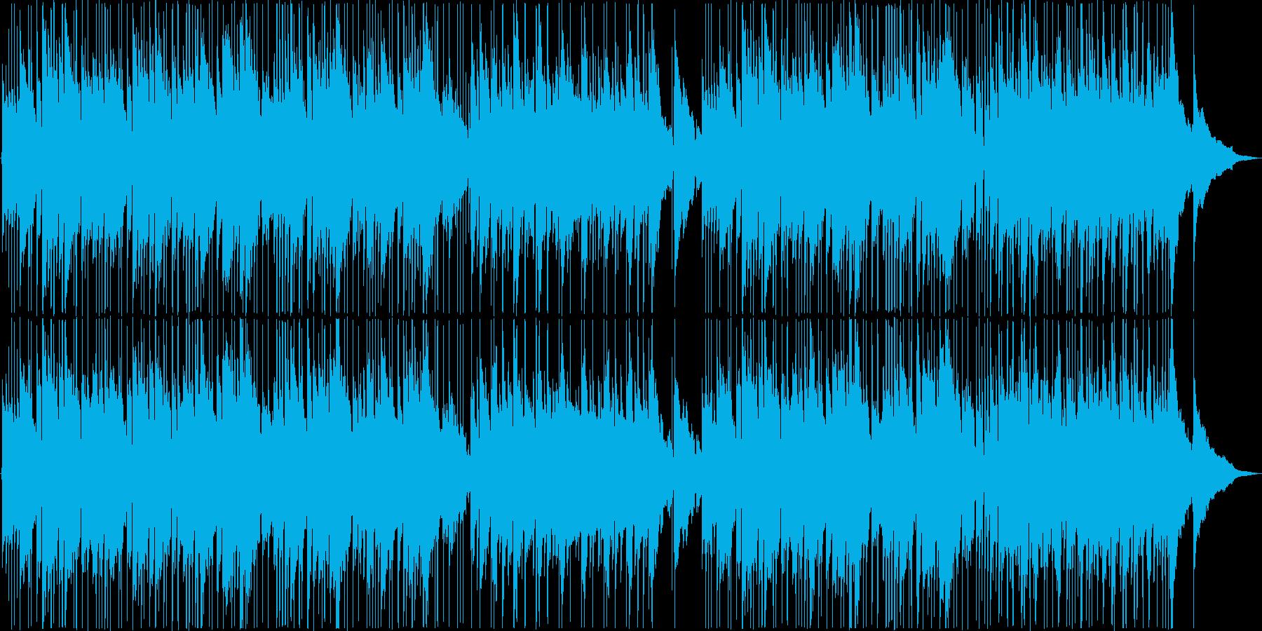 アコースティックギターフックとフレ...の再生済みの波形