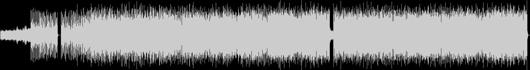 スリリングなリズムに大きいメロディの未再生の波形