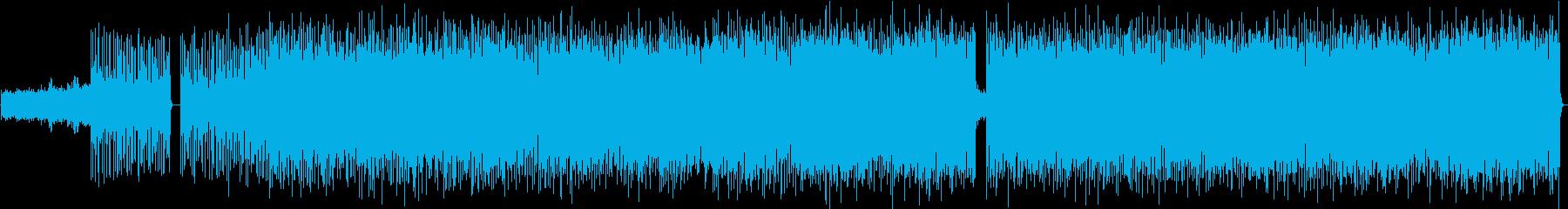 スリリングなリズムに大きいメロディの再生済みの波形
