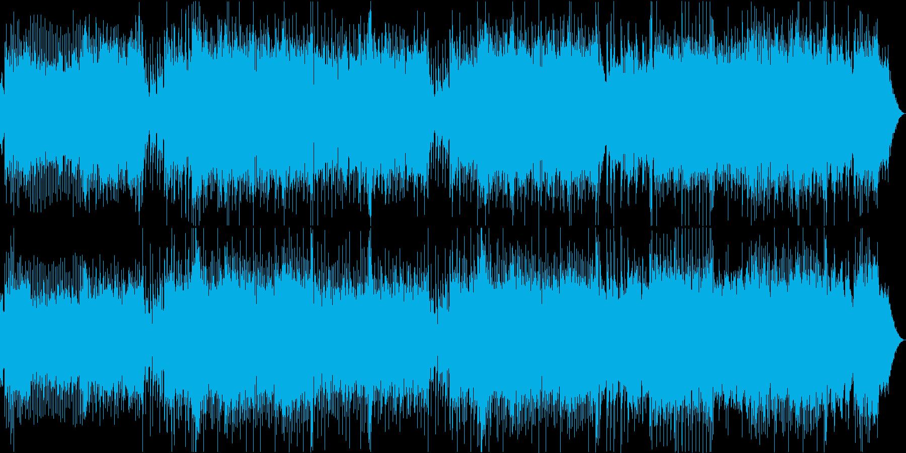 オーケストラピアノ爽やかBGM企業VPの再生済みの波形
