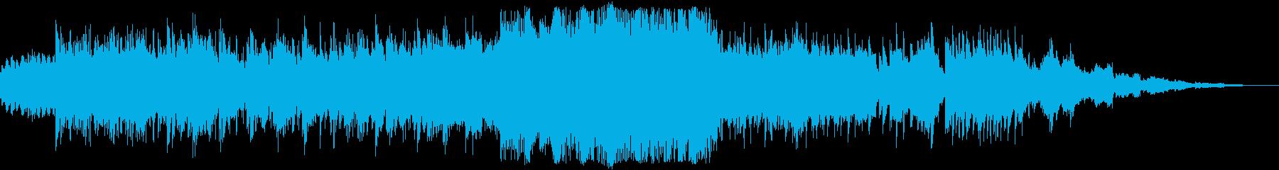 古時計のようになつかしいアンビエントの再生済みの波形