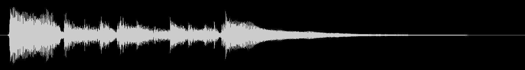 ★アコギジングル23/暖かい、レトロの未再生の波形