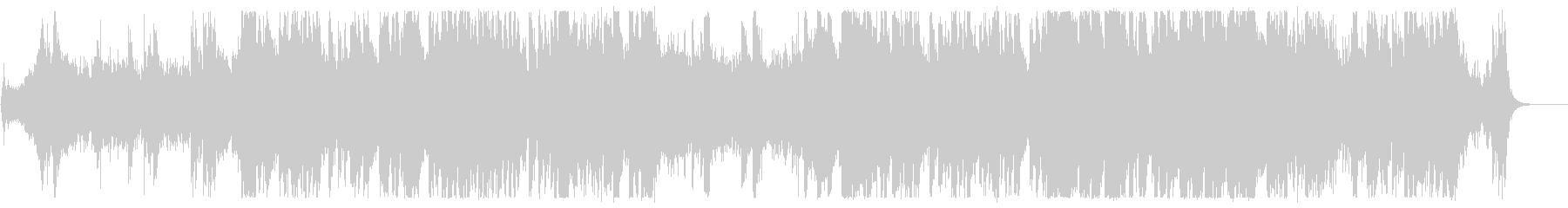 シネマティックトレーラーBGM2の未再生の波形