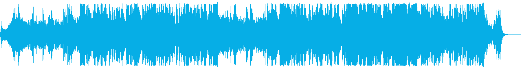 シネマティックトレーラーBGM2の再生済みの波形