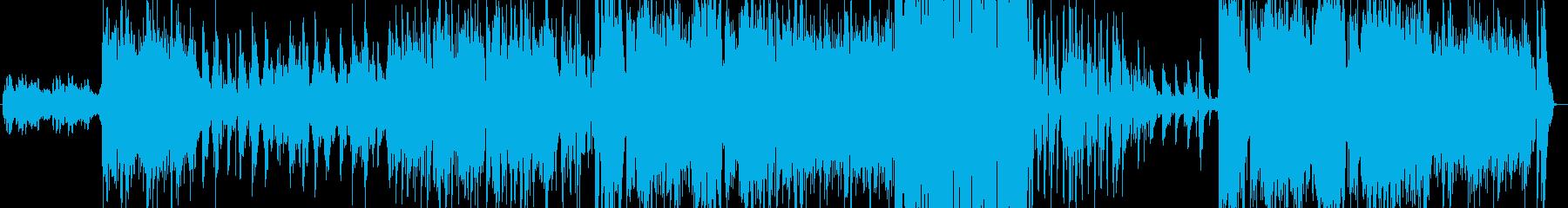 海の中に居る様なテクノバラードの再生済みの波形