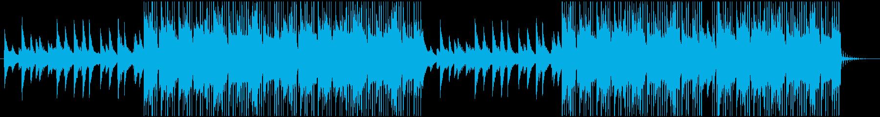 ピアノが特徴的なインストヒップホップの再生済みの波形