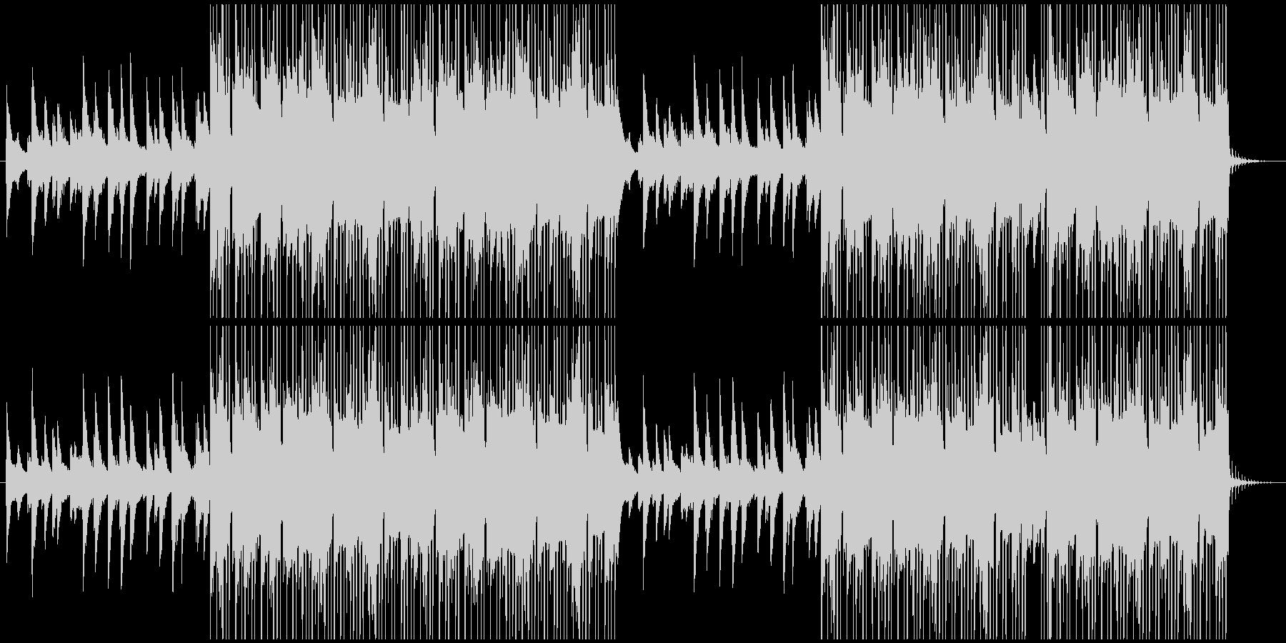 ピアノが特徴的なインストヒップホップの未再生の波形