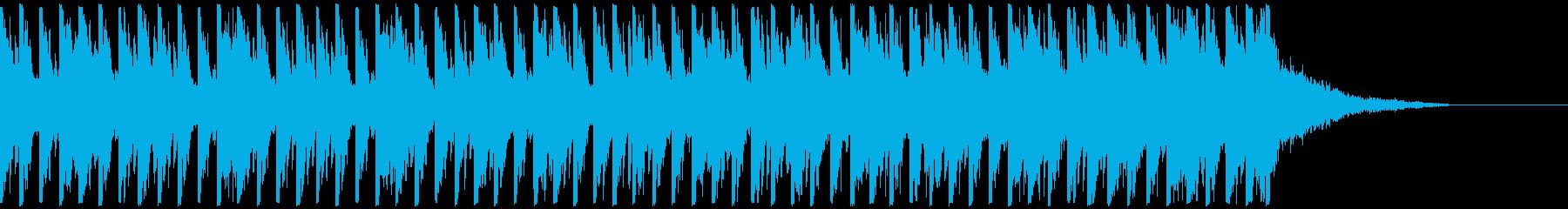 オシャ4つ打ち、スタイリッシュ雰囲気系3の再生済みの波形