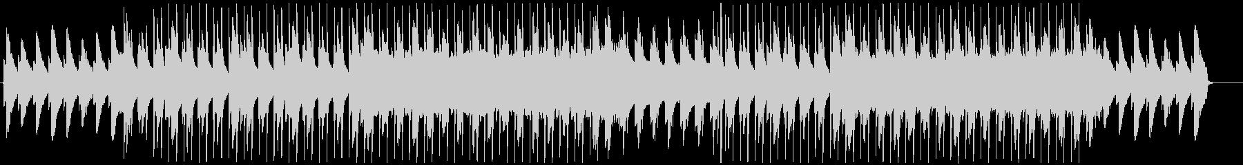 ピアノが特徴的なジャズヒップホップの未再生の波形