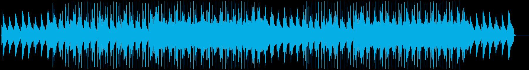 ピアノが特徴的なジャズヒップホップの再生済みの波形