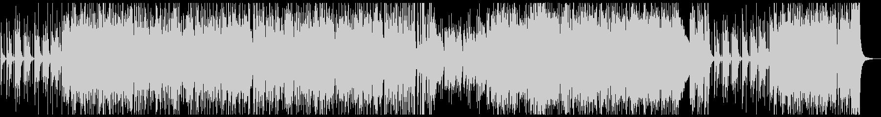 アップテンポのJAZZ(ピアノトリオ)の未再生の波形