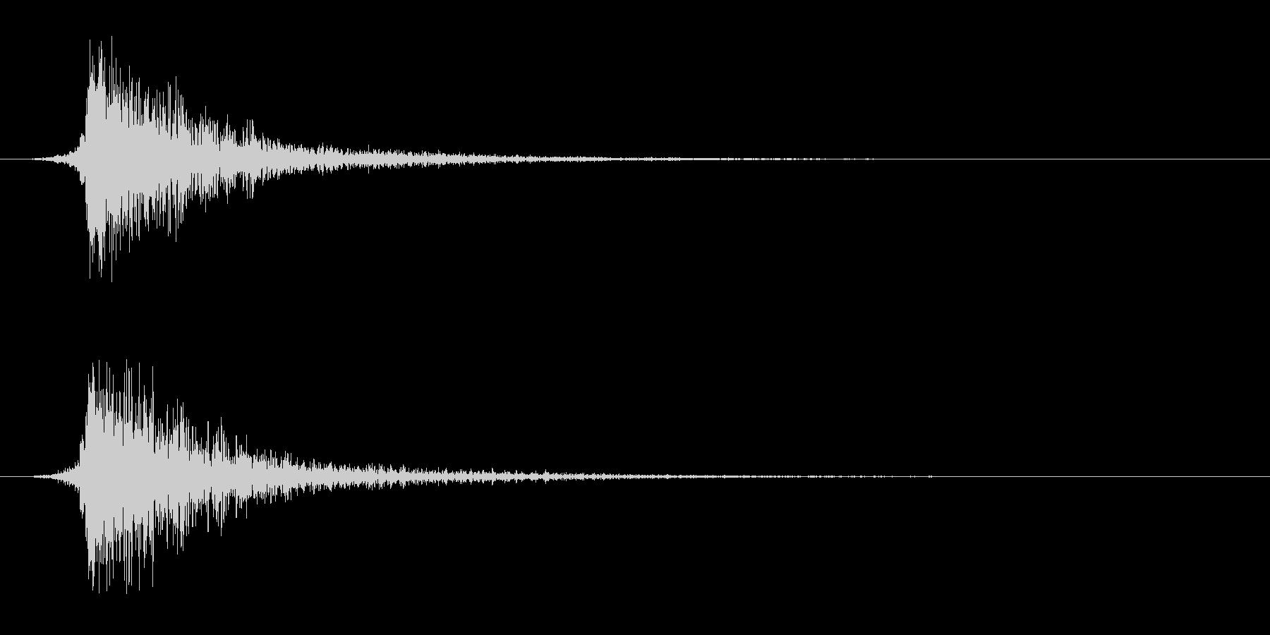 シュードーン-8(インパクト音)の未再生の波形