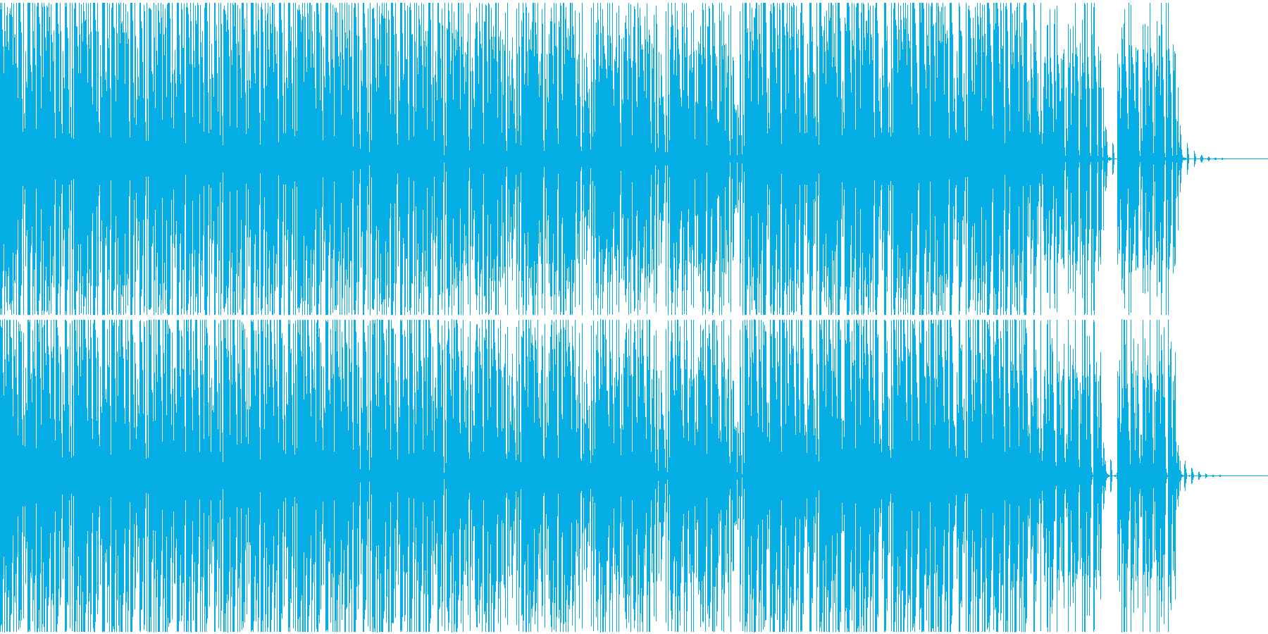 ゆったり系トランスの再生済みの波形