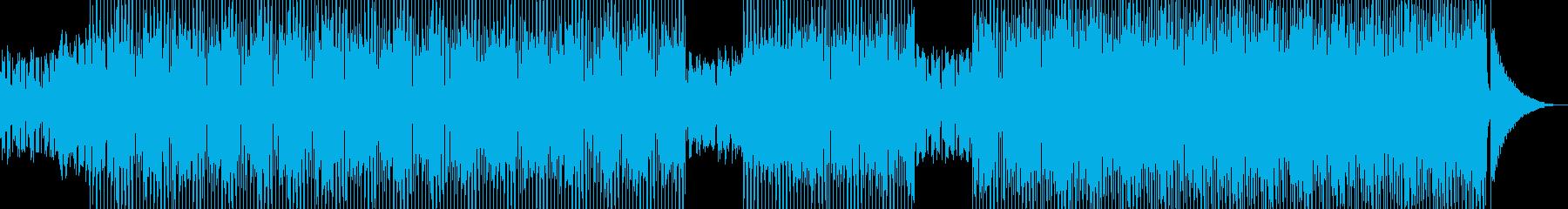 ログカフェをイメージしたテクノ B★の再生済みの波形