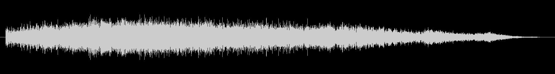 ホラー バズクライングベルズハイ01の未再生の波形