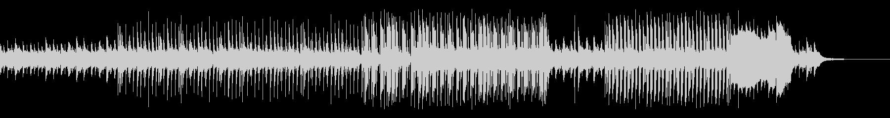 跳ねたリズムの可愛いピアノとマリンバの曲の未再生の波形
