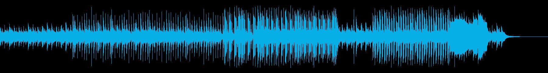 跳ねたリズムの可愛いピアノとマリンバの曲の再生済みの波形