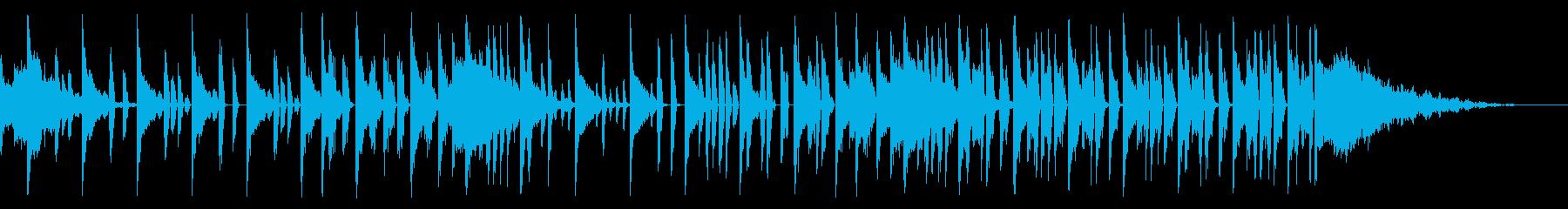 キックなし、トーナルFX、140 BPMの再生済みの波形